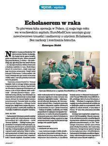Artykuł Echolaserem w Raka