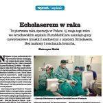 Artykul o echolaser w Wprost